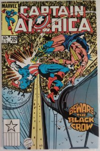 CAPTAIN AMERICA #292 Marvel Comics ID#MBX2