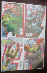 Earth's Mightiest Heroes comics set:#1-8 8.0 VF (2005)