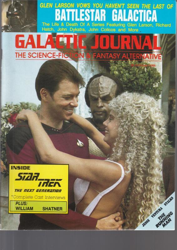 Galactic Journal 1988 - Jesse Ventura Stalks the Running Man