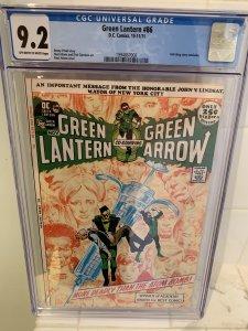 Green Lantern #86 9.2 CGC Certified