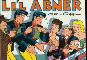 LI'L ABNER-THE DAILIES 1940-HARDCOVER-AL CAPP-VOL 6 VG