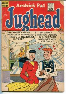 Archie's Pal Jughead #71 1961-MLJ-Betty-Veronica-soda shop-VG