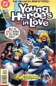 Young Heroes in Love #3, NM (Stock photo)