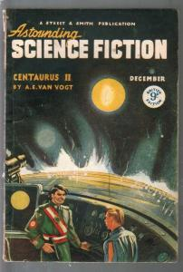 Astounding Science Fiction British Edition12/1947-sci-fi pulp fiction-Van Vogt-V