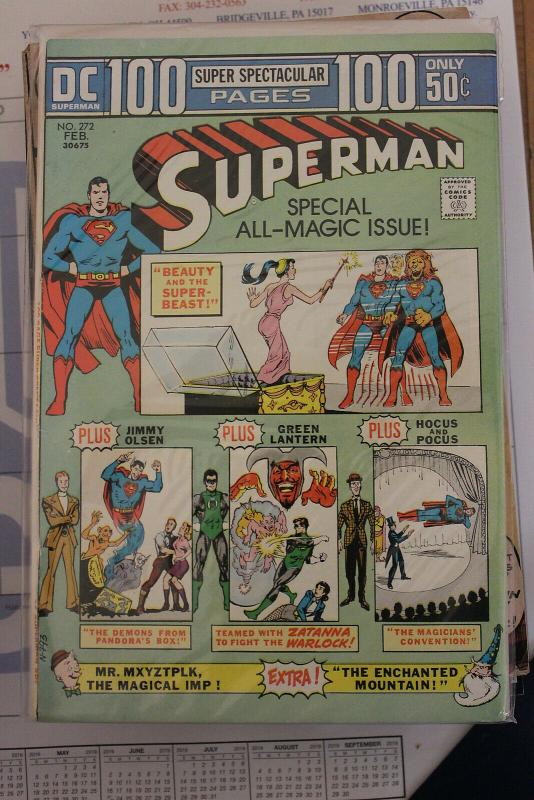 Superman #272 (DC, 1974) VF/NM