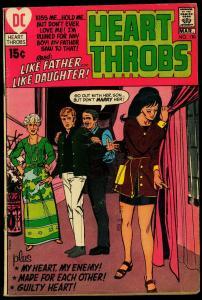 Heart Throbs #130 1971- DC Romance Late issue- G/VG