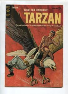 TARZAN #132 1962-GOLD KEY-EDGAR RICE BURROUGHS-FN