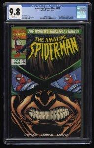 Amazing Spider-Man #427 CGC NM/M 9.8 White Pages