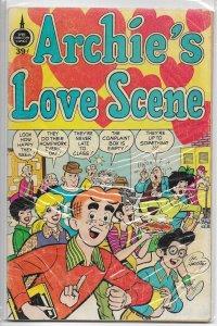 Archie's Love Scene   #nn (39c) GD (Spire Christian Comics)