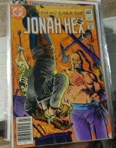 JONAH HEX # 62 1982 DC COMICS WESTERN  MALAY TIGER
