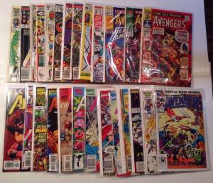 Avengers Annual 1-23 96-01 Higher Grade Lot Set Run 5.0-9.2 7 10
