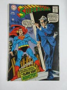 SUPERMAN (1939-1986) 209 G-VG Aug 1968