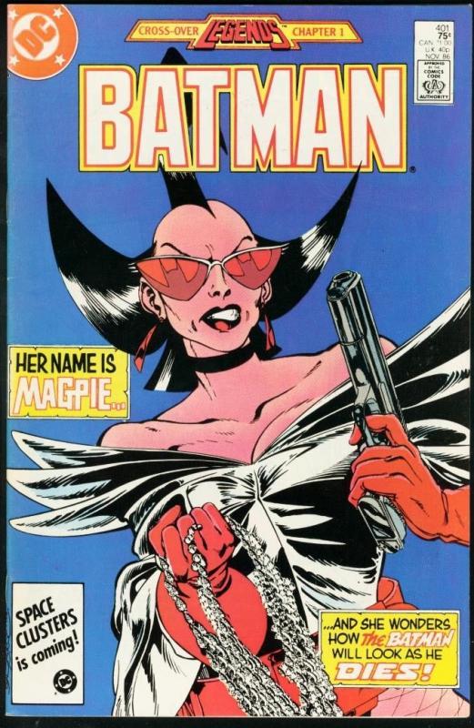 BATMAN #401-1986-DC VF