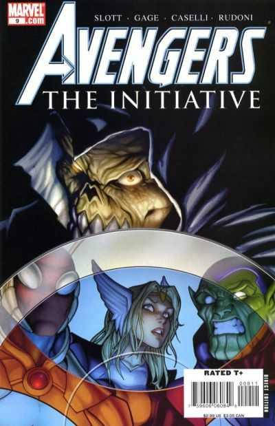 Avengers: The Initiative #9, NM (Stock photo)