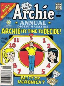 Archie Annual Digest Magazine #60 VF; Archie | save on shipping - details inside