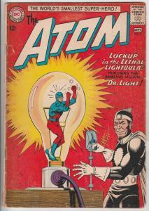 Atom, The #8 (Sep-63) VG Affordable-Grade The Atom