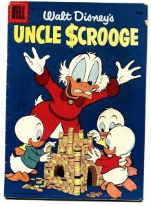 WALT DISNEY'S UNCLE SCROOGE #13 1956-CARL BARKS-DELL COMICS-VG