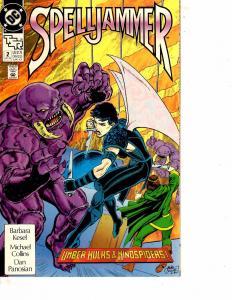 Lot Of 5 Spelljammer DC Comic Books #2 4 5 6 8 Batman ON11