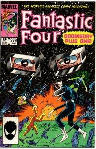 FANTASTIC FOUR #279 VF/NM Dr Doom  Byrne 1961 1985 Marvel, more FF in store