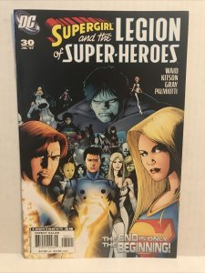 Supergirl and the legion of super-heroes #30