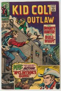 Kid Colt Outlaw #137 (Nov-67) VF+ High-Grade Kid Colt