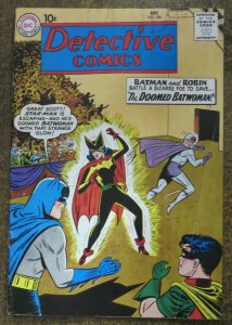 DETECTIVE COMICS #286 (DC,12/1960) GOOD-VERY GOOD (G-VG) Batwoman cover!