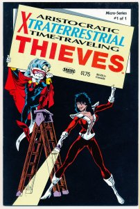 Aristocratic Xtraterrestrial Time Traveling Thieves (1986) #1 NM
