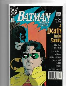 Batman #427 VF/NM Death in the Family Part 2 Death of Robin Jason Todd Joker