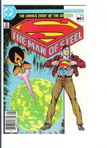 Superman Man of Steel #1 Thru #6 June 1986 (VF/NM)