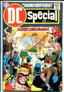 DC SPECIAL #5-Secret Lives of JOE KUBERT! VG/FN