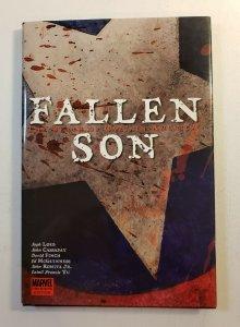 FALLEN SON THE DEATH OF CAPTAIN AMERICA HARD COVER GRAPHIC NOVEL MARVEL
