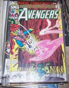 Avengers # 231 (May 1983, Marvel) THOR SHE HULK CAPTAIN MARVEL