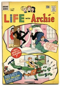 Life With Archie #34 1965-Betty & Veronica- Beatnik Caper FN