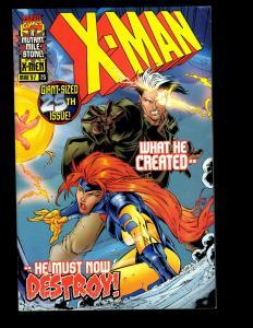 Lot Of 12 X-Man Marvel Comics # 25 26 27 28 29 30 31 32 33 34 35 36 X-Men EK10