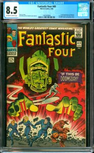 Fantastic Four #49 CGC Graded 8.5 1st full appearance of Galactus. 2nd appear...