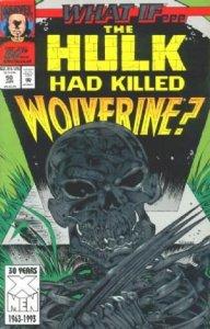 What If? #50 Wolverine killed The Hulk stock photo ID#B-1