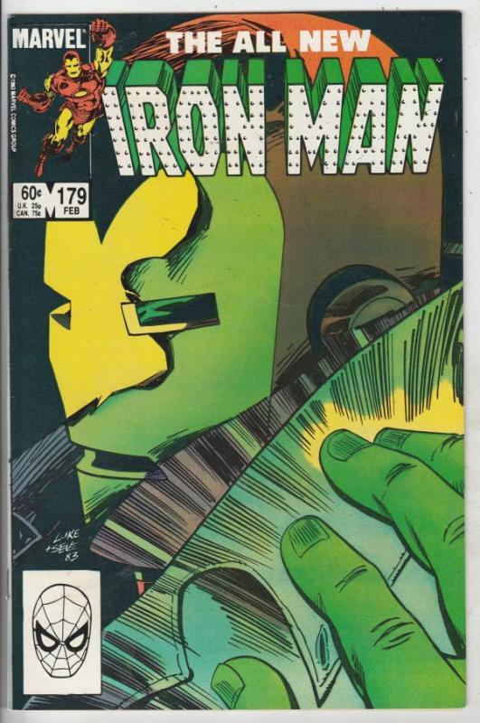 Iron Man #179 (Feb-84) NM- High-Grade Iron Man