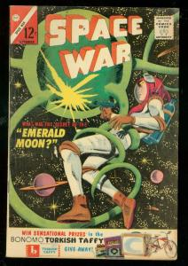 SPACE WAR #24 1963-CHARLTON-EMERALD MOON COVER-ESP VG/FN