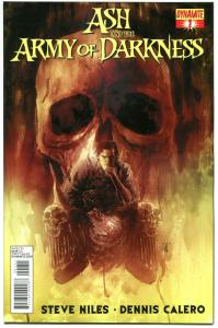 ASH & the ARMY of DARKNESS  #1, VF+, Steve Niles, Calero, 2013,more AOD in s