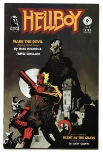 Hellboy: Wake the Devil #1 1st issue-Dark Horse comic book