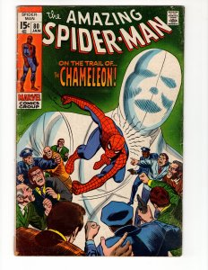 Amazing Spider-Man #80 (VG-) The Chameleon! ID#44P