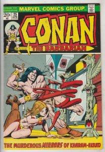 Conan the Barbarian #25 (Apr-73) VF/NM High-Grade Conan the Barbarian