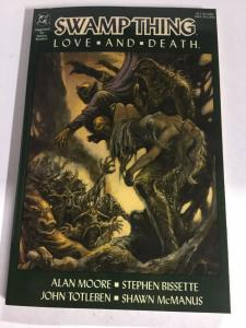 Swamp Thing Love And Death Nm Near Mint DC Comics SC TPB