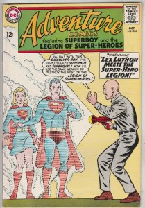 Adventure Comics #325 (Oct-64) FN/VF+ Mid-High-Grade Legion of Super-Heroes, ...