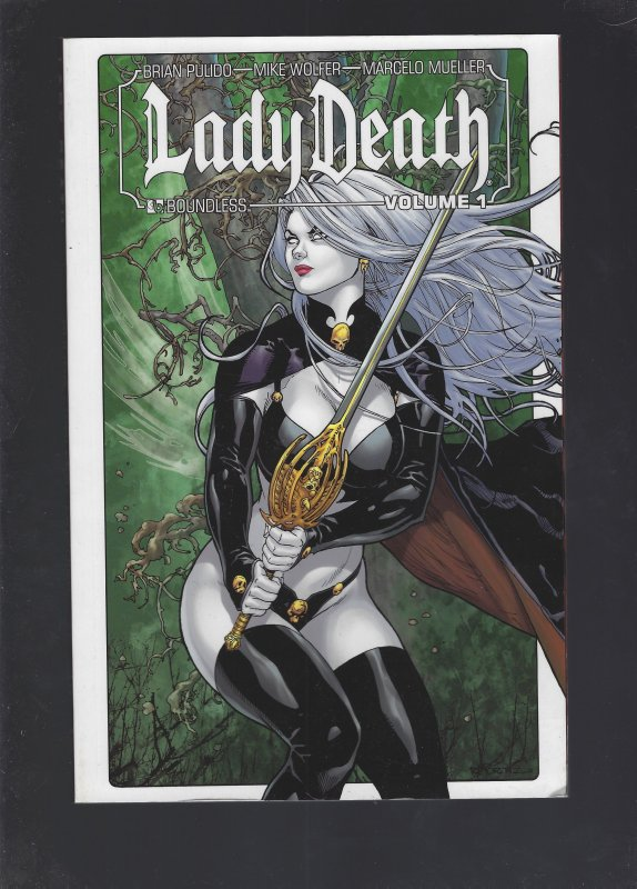 Lady Death Volume 1 Soft Cover Trade Paperback