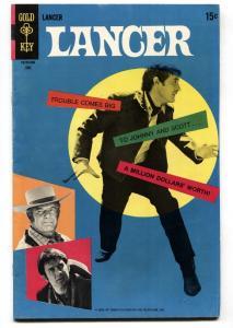 LANCER #2 1969-TV WESTERN ADVENTURE-STACY-DUGGAN-PHOTO VF-