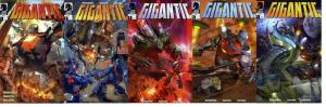 GIGANTIC (2008 DH) 1-5  COMPLETE!