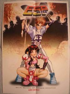 ESP ULTRA Promo poster, Manga, 15x21, Unused, more Promos in store