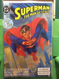 Superman The Man of Steel #1