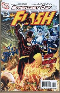 FLASH #5, NM, Brightest Day, Rogues, Renegades, 2010, more DC in store